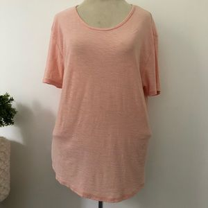 James Perse short sleeve round neck t-shirt
